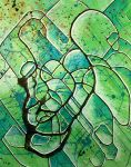 green abstractos.. by santosam81