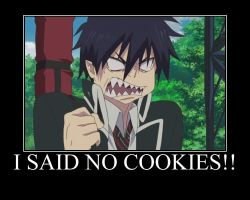someone don't like cookies x3 by AoBleachcakeShoujo
