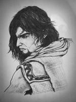 Prince Of Persia Drawing by IAmSamael
