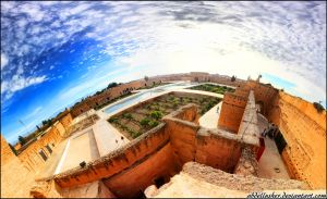 El Badi Palace by abdellusher