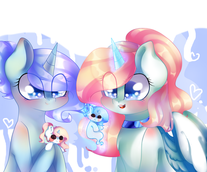 Commission for Cloudy-Risicpaint by MusicStar123