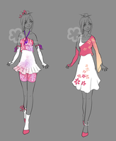 Some Outfit Adopts #16 - sold by Nahemii-san