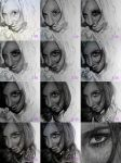 Portrait Drawing WIPs 2 by Sheloize