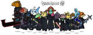 Organization XIII Crossover by Chrisstiger