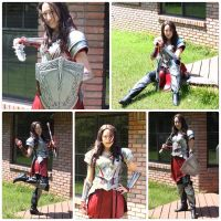 Lady Sif: The Dark World Preview by yupKat