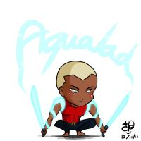 YJ Chibi project 1 - Aqualad by sanekkuburai