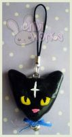 D.Gray Man Lulu Bell Charm by ChibiWorks