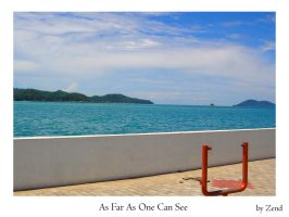 As Far As One Can See by zend