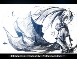 Black Rock Shooter .:Series Version:. by XiaFei