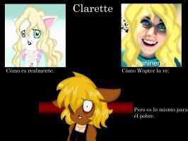 Clarette en la realidad by Marythedark