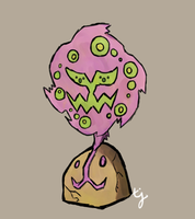 Phillipinas's Spiritomb ~ Hunter by tjmoonstudios