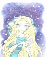 She dreamed of earth by Danielle-chan
