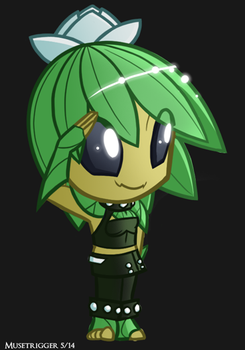 Starbound: SD Lily by Musetrigger