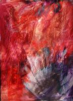Red and Blue Composition by turbinedivinity