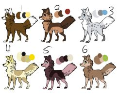 Dog adopts 7 points OPEN by Soulphur
