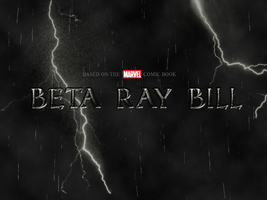 Beta Ray Bill fanmade moive poster by chronoxiong