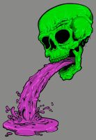 SKULL VOMIT by nappydread