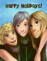 HAPPY HOLIDAYS by iFoy