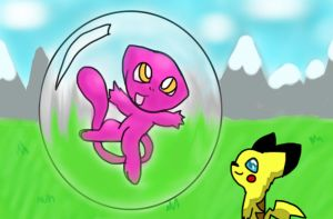 Myths of Mew- Lost Traveler by NeoThePikachu