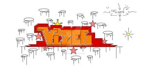 Graffitti Art No 2 by Vizen by FantoonClub