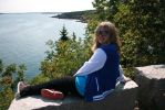 Me At Bar Harbor, Maine 8/11/14 by Lori-the-Wolf