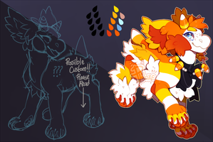 ::Halloween Auction:: - Candy Corn Bab (CLOSED) by PhloxeButt