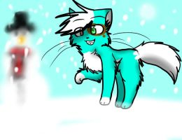+Gift+ Dat Snow by Stressed-Panda