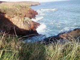 Clifftop View by TinaMansellEaton