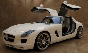 2011 Mercedes-Benz Gullwing by jazzthieflk