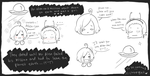 The Adventures of Alien-san and the earthling- wat by chibipiglet