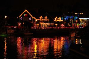 Christmas in Naples California by AndySerrano