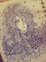 #Kamijo. Sketch. by Matthew-Ray