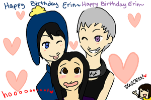 HAPPY EARLY BIRTHDAY ERIN by OsoDeClare