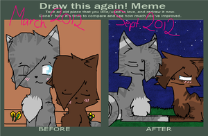Draw This Again Meme - JayfeatherXBriarlight by seaqlasses