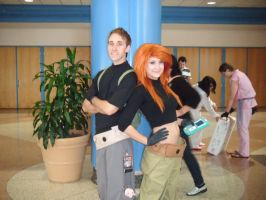 Kim Possible and Ron Stoppable by HaraJukuGirl8425