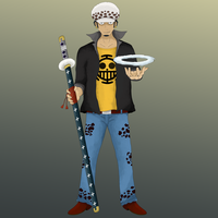2YL Trafalgar Law by lTHRl