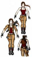 random tomb raider by J3ckyll