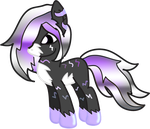 Gift: Liquidlight Pony for SilverRomance by Neoceltia