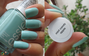 Essie Mint candy apple by Danijella