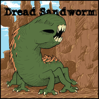 Dread Sandworm by The-BenT-One