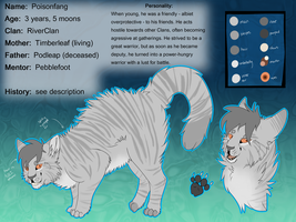 Poisonfang Reference Sheet 2014 by Spottedfire23