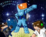 MinecraftUniverse Background by 11IceDragon11