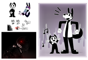 Bendy and The Ink Machine [READ DESCRIPTION] by Lunefuforu