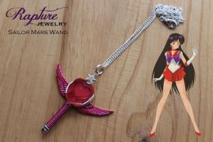 Sailor Mars Wand Pendant by RaptureJewelry
