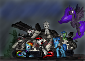 Fallout Equestria Project Horizons 4volume Spoiler by Setharu