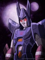 Cyclonus, not impressed by WaywardInsecticon
