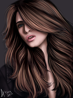Realistic painting by Bonnie-Anne