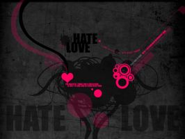 Hate and Love by lilithbloody