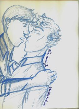 Young Sherlock and John by SherlocksHedgehogJ