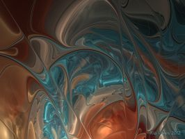 New glass script study 13 detail by Epogh